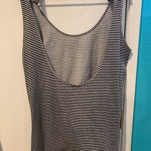 Striped tank top by move alternative